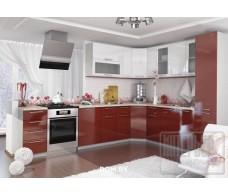 Модульная кухня София металлик