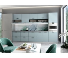 Модульная кухня Ройс Зеленый Софт