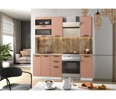 Модульная кухня Ройс Персик Софт