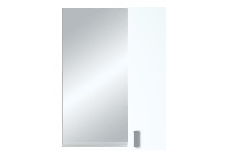 Зеркало-шкаф Вита 65 Белый глянец