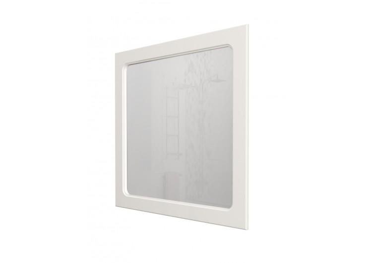Зеркало Прованс 85 Белый глянец