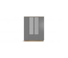 Шкаф РИМ-180 крафт табачный, cерый графит