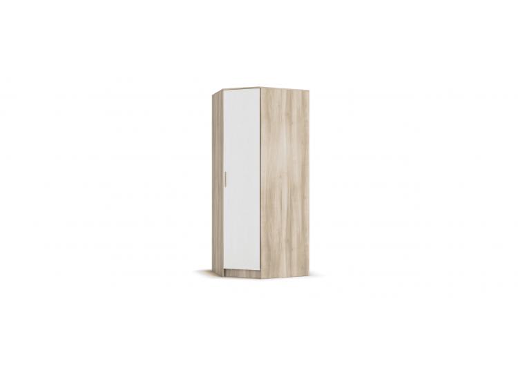 Угловой шкаф РИМ сонома, белый снег
