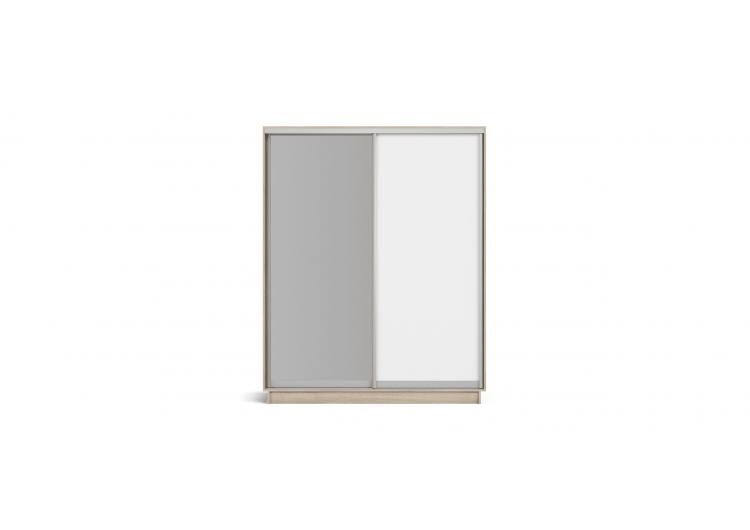 Шкаф-купе 2-дверный РИМ-180 сонома, белый снег