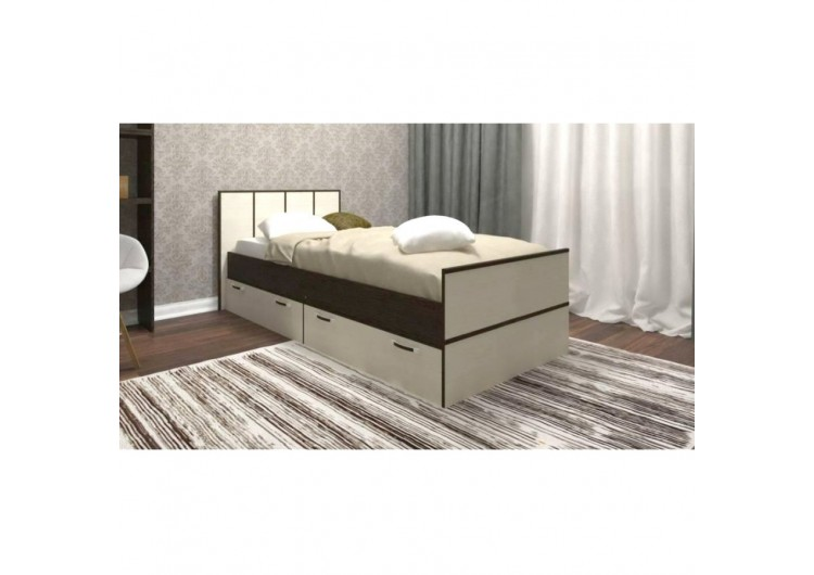 Кровать Rikko Джулия 0,9 м(ясень)