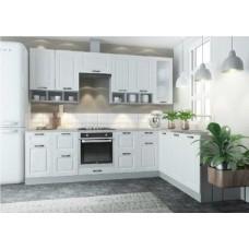 Кухня ДСВ Мебель Вариант фасада Капри Липа белый