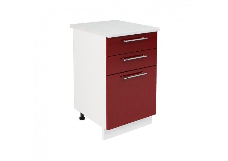 Шкаф нижний с ящиками ШН3Я 500