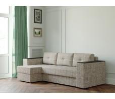 Угловой диван Ванкувер Лайт с декором