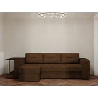 Угловой диван Ванкувер Лайт со столом и накладкой