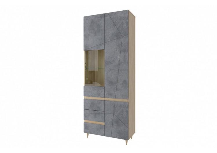 Шкаф со стеклом Киото СТЛ.339.02