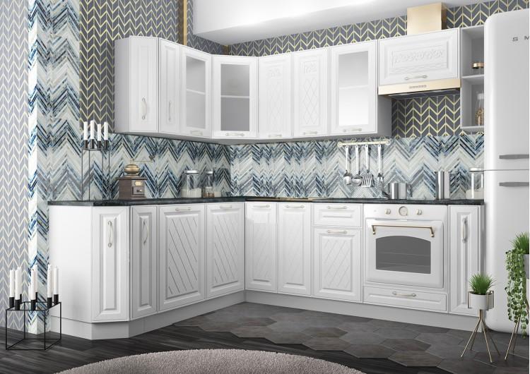 Кухня ДСВ Мебель Вариант фасада Вита Белый