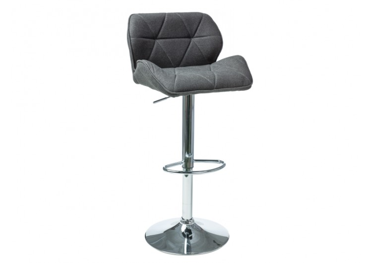 Барный стул Signal C122 темно-серый, ткань