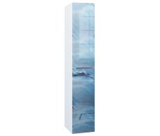Пенал Idalgo 30П 2д. Blue marble L