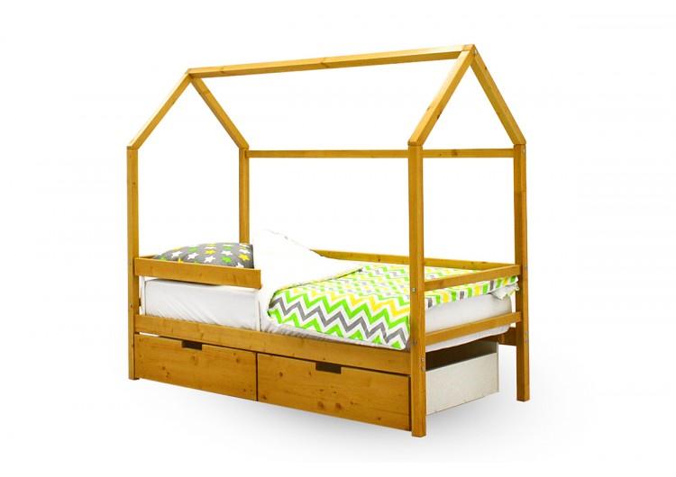 Детская кровать-домик Бельмарко Svogen дерево