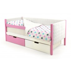 Детская кровать-тахта мягкая Бельмарко Svogen лаванда-белый