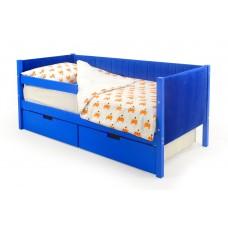 Детская кровать-тахта мягкая Бельмарко Svogen синий