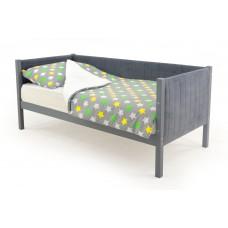Детская кровать-тахта мягкая  Svogen графит