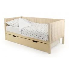 Детская кровать-тахта мягкая Бельмарко Svogen бежевый
