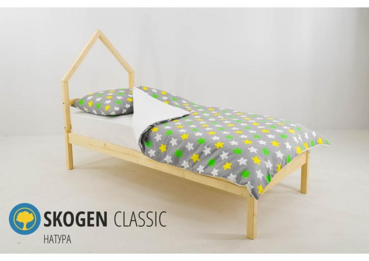 Детская кровать-домик мини Svogen НАТУРА