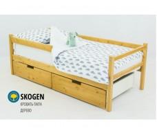 Детская кровать-тахта Svogen дерево