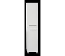 Пенал Соната 35Н, 2д, б/к Белый глянец