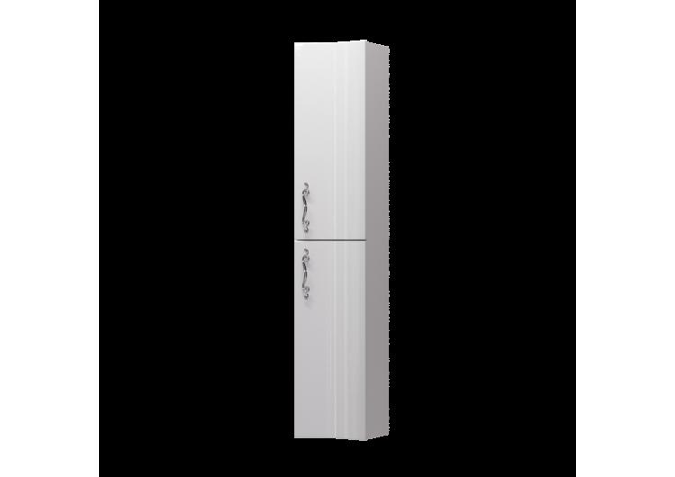 Пенал Amethyst 30П, 2д, White, вогнутый