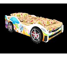 Детская кровать машина серия Город Монако
