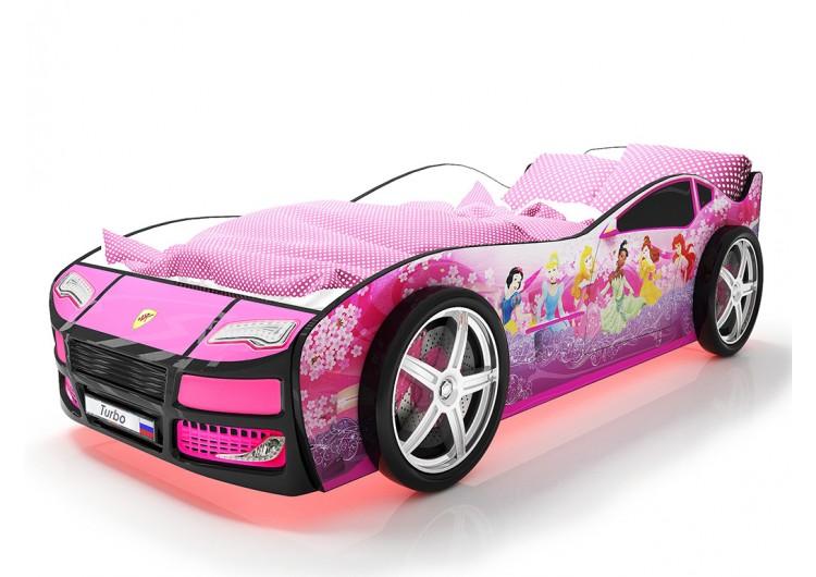 Детская кровать машина Турбо Фея