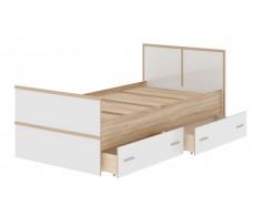 Кровать Памир Сакура КР 900 с ящиками