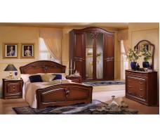 Спальня Валерия 4 орех