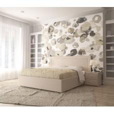 Кровать Модерн с гладким центром