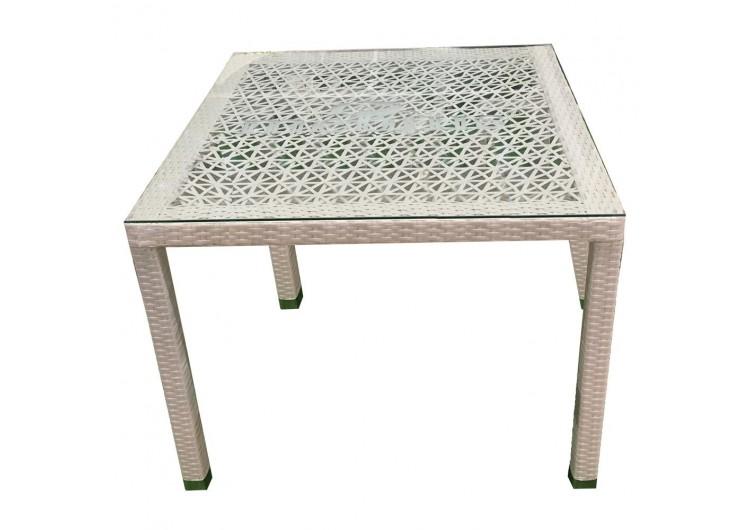 T003 Стол TURIN (ажурный) 100 × 100 × 76