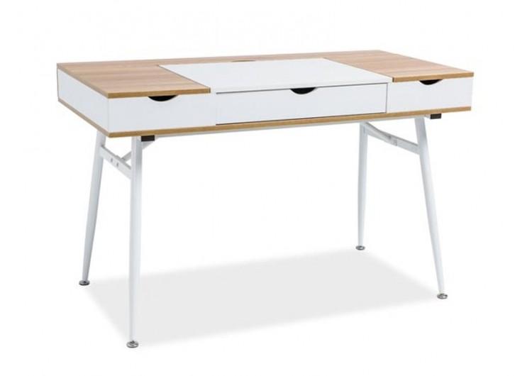 Стол компьютерный SIGNAL B151 дуб\белый, 120/60/76