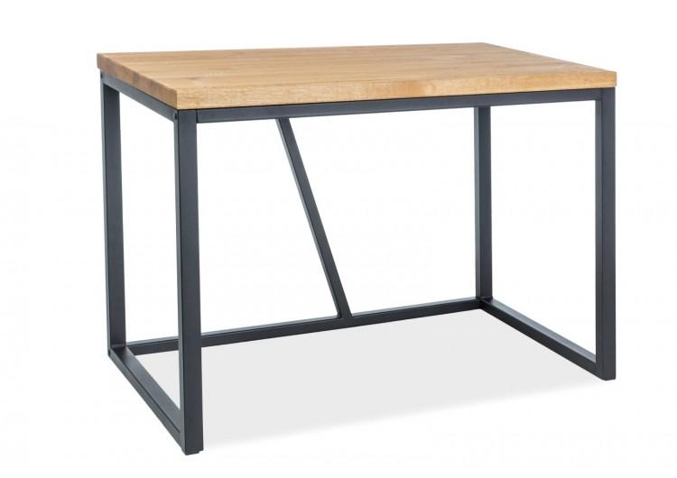 Стол компьютерный SIGNAL SILVIO дуб натуральный/черный NEW