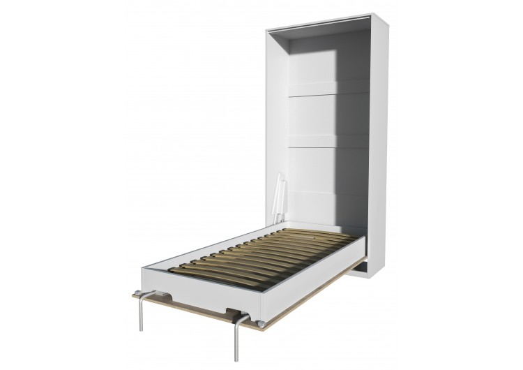Шкаф-кровать Innova V90 (бетон/белый)