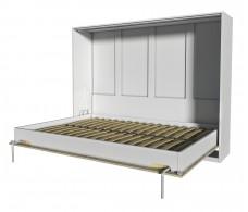 Шкаф-кровать Innova H140 (вудлайн/белый)
