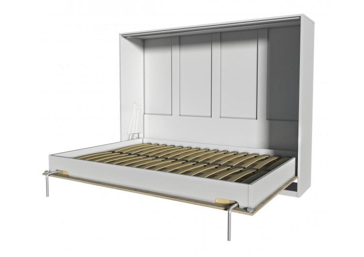 Шкаф-кровать Innova H140 (бетон/белый)