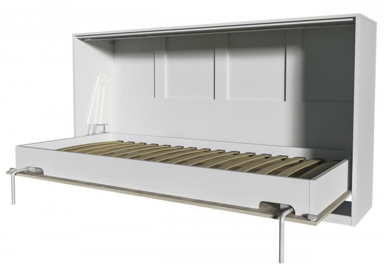 Шкаф-кровать Innova H90 (дуб сонома/белый)