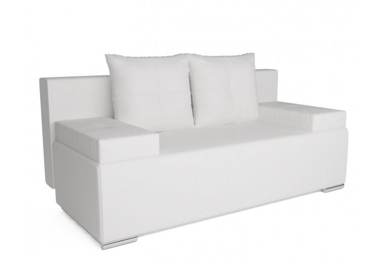 Диван Мадейра (экокожа белая)