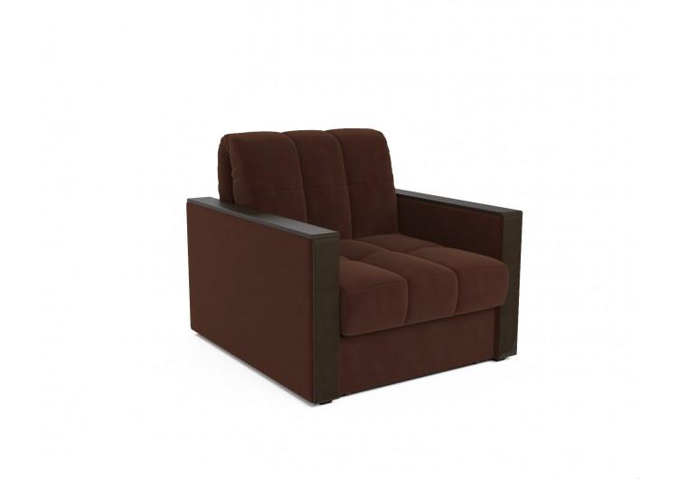 Кресло-кровать Техас (коричневый - Luna 092)