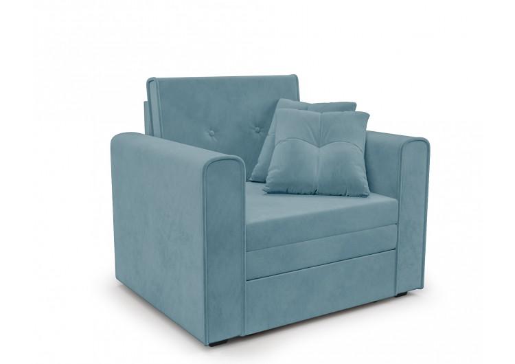 Кресло-кровать Санта (голубой - Luna 089)
