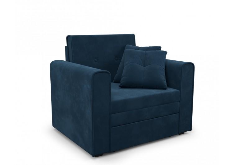 Кресло-кровать Санта (темно-синий - Luna 034)
