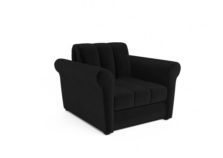 Кресло-кровать Гранд (велюр черный / НВ-178/17)