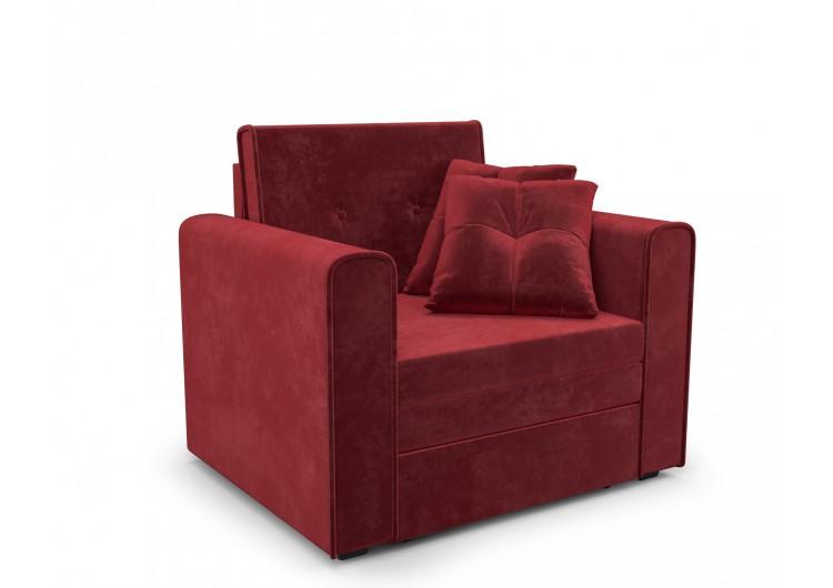 Кресло-кроватьСанта (бархат красный STAR VELVET 3 DARK RED)