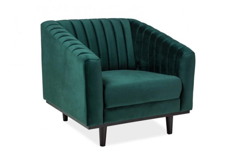 Кресло SIGNAL ASPREY 1 VELVET Bluvel78, зеленый NEW