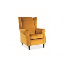 Кресло SIGNAL BARON VELVET Bluvel68, карри NEW 2