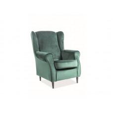 Кресло Signal BARON Velvet Bluvel 78 (зеленый)