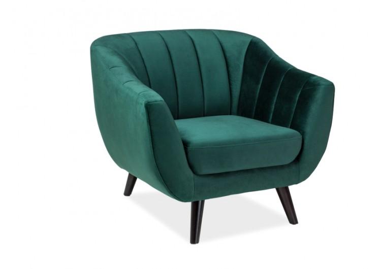 Кресло SIGNAL ELITE 1 VELVET Bluvel78, зеленый NEW