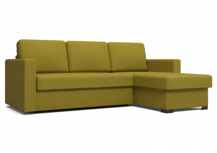 Угловой диван Джессика оливковый