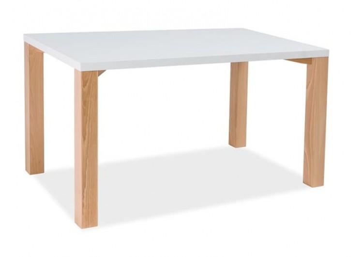 Стол обеденный Signal EGON 120 (белый/бук)